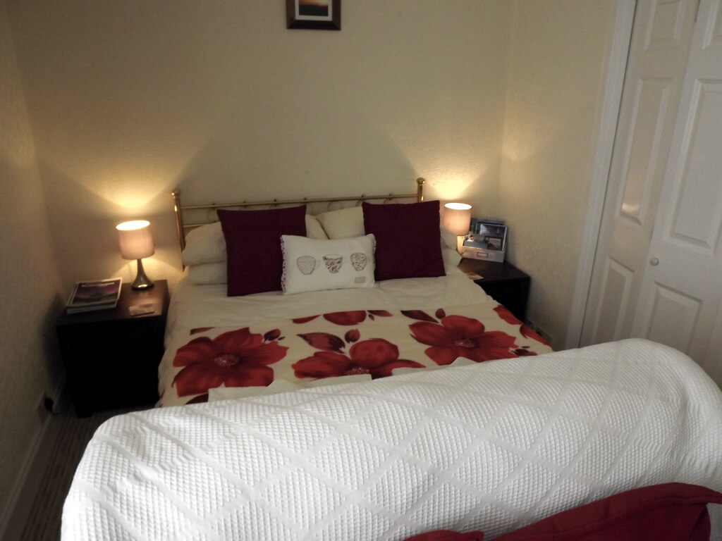 Double bed in first floor