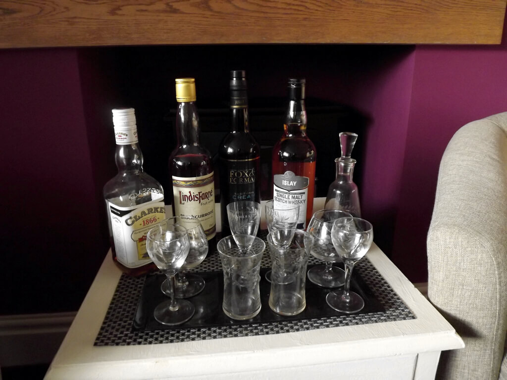 A selection of Malt Whisky to choose from